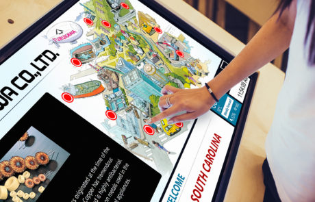 Dennison Creative Touch Screen Applications